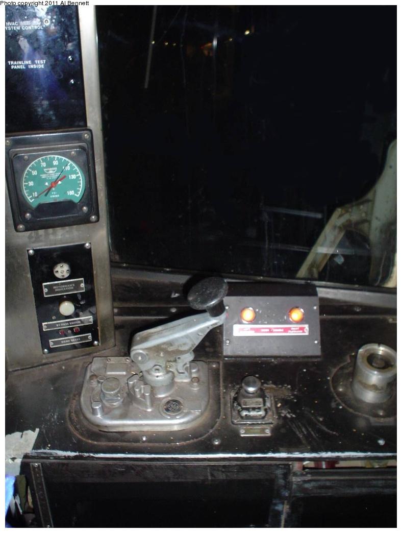 (194k, 788x1044)<br><b>Country:</b> United States<br><b>City:</b> New York<br><b>System:</b> New York City Transit<br><b>Car:</b> R-42 (St. Louis, 1969-1970)  4839 <br><b>Photo by:</b> Al Bennett, Jr.<br><b>Notes:</b> Motorman controls.<br><b>Viewed (this week/total):</b> 1 / 979
