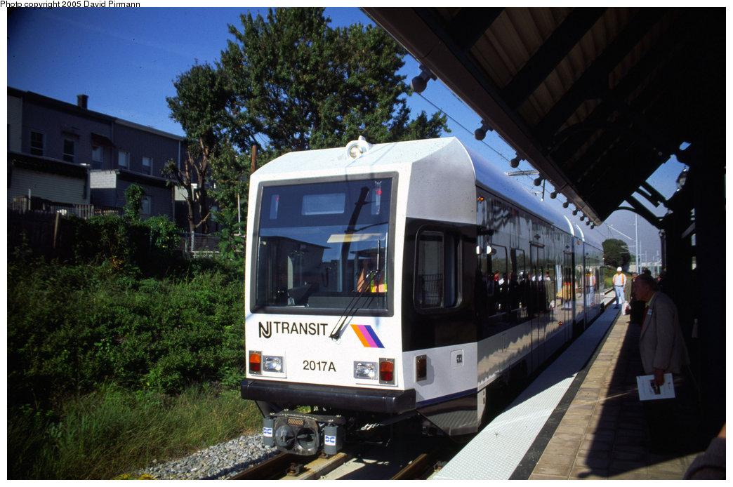 (198k, 1044x694)<br><b>Country:</b> United States<br><b>City:</b> Jersey City, NJ<br><b>System:</b> Hudson Bergen Light Rail<br><b>Location:</b> Danforth Avenue <br><b>Car:</b> NJT-HBLR LRV (Kinki-Sharyo, 1998-99)  2017 <br><b>Photo by:</b> David Pirmann<br><b>Date:</b> 10/2/1999<br><b>Viewed (this week/total):</b> 0 / 3796
