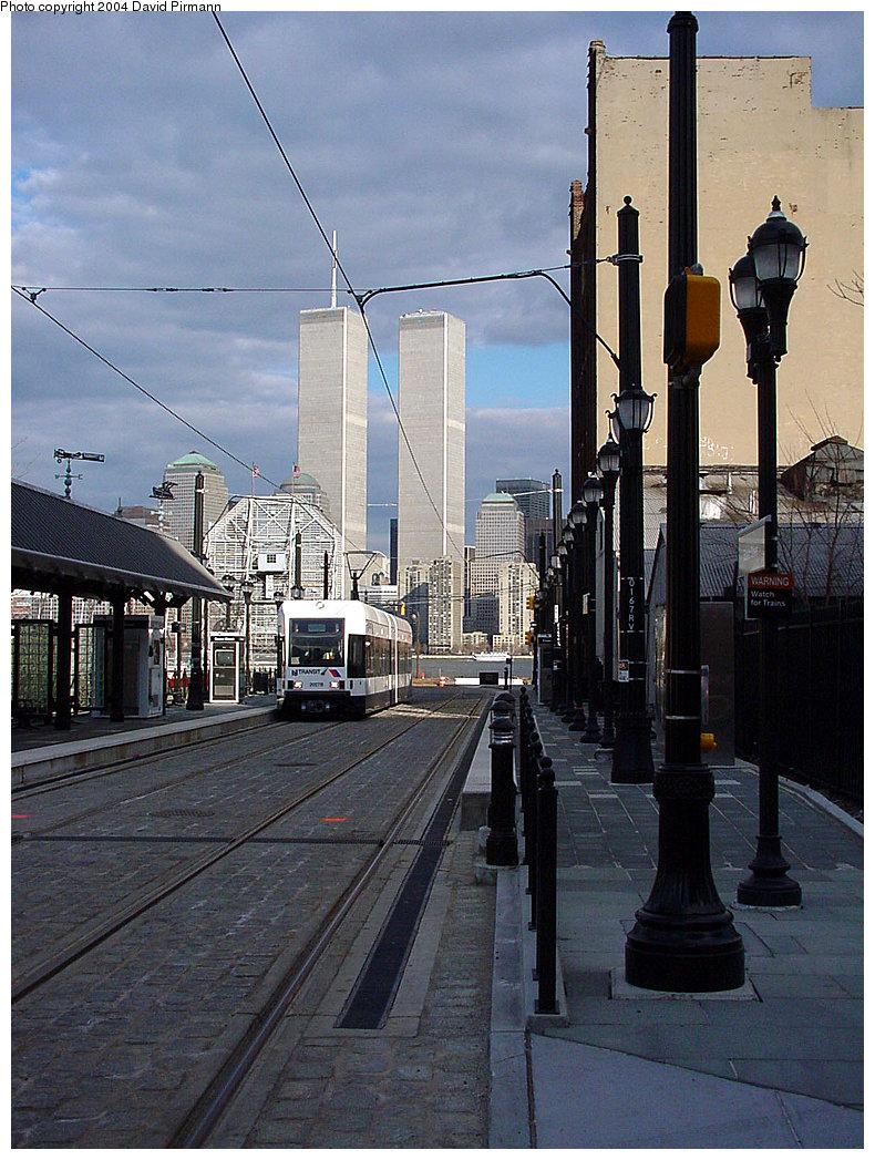 (274k, 790x1047)<br><b>Country:</b> United States<br><b>City:</b> Jersey City, NJ<br><b>System:</b> Hudson Bergen Light Rail<br><b>Location:</b> Essex Street <br><b>Car:</b> NJT-HBLR LRV (Kinki-Sharyo, 1998-99)  2027 <br><b>Photo by:</b> David Pirmann<br><b>Date:</b> 3/26/2000<br><b>Viewed (this week/total):</b> 0 / 7243