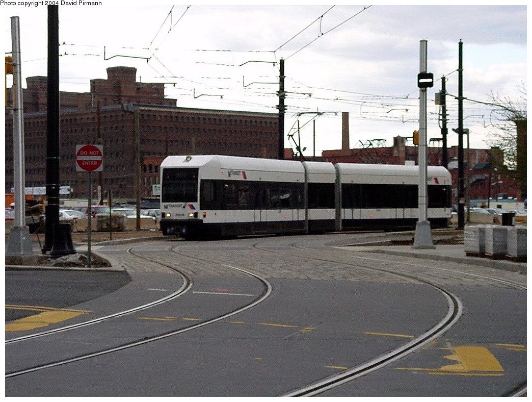 (248k, 1044x788)<br><b>Country:</b> United States<br><b>City:</b> Jersey City, NJ<br><b>System:</b> Hudson Bergen Light Rail<br><b>Location:</b> Exchange Place <br><b>Photo by:</b> David Pirmann<br><b>Date:</b> 3/26/2000<br><b>Viewed (this week/total):</b> 1 / 2718
