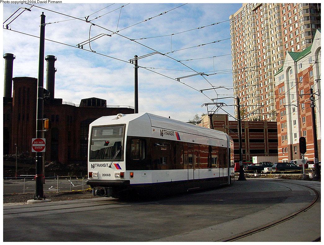 (307k, 1044x788)<br><b>Country:</b> United States<br><b>City:</b> Jersey City, NJ<br><b>System:</b> Hudson Bergen Light Rail<br><b>Location:</b> Harborside <br><b>Car:</b> NJT-HBLR LRV (Kinki-Sharyo, 1998-99)  2006 <br><b>Photo by:</b> David Pirmann<br><b>Date:</b> 11/12/2000<br><b>Viewed (this week/total):</b> 1 / 2700