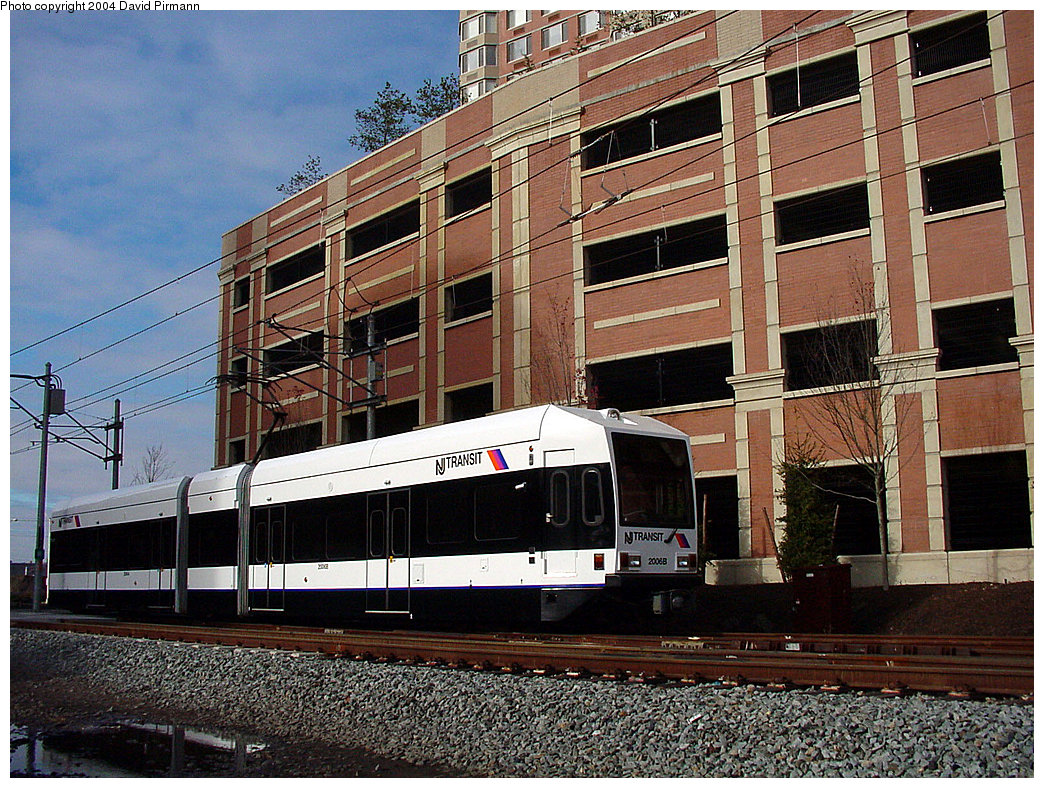 (340k, 1044x788)<br><b>Country:</b> United States<br><b>City:</b> Jersey City, NJ<br><b>System:</b> Hudson Bergen Light Rail<br><b>Location:</b> Harborside <br><b>Car:</b> NJT-HBLR LRV (Kinki-Sharyo, 1998-99)  2006 <br><b>Photo by:</b> David Pirmann<br><b>Date:</b> 11/12/2000<br><b>Viewed (this week/total):</b> 0 / 2323