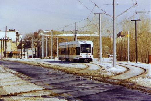 (37k, 526x352)<br><b>Country:</b> United States<br><b>City:</b> Jersey City, NJ<br><b>System:</b> Hudson Bergen Light Rail<br><b>Location:</b> Jersey Avenue <br><b>Photo by:</b> Daniel C. Boyar<br><b>Date:</b> 1/26/2000<br><b>Viewed (this week/total):</b> 1 / 3154