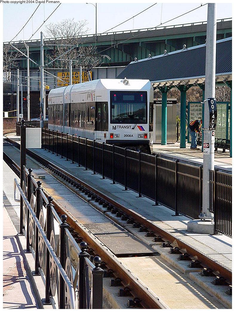 (339k, 788x1044)<br><b>Country:</b> United States<br><b>City:</b> Jersey City, NJ<br><b>System:</b> Hudson Bergen Light Rail<br><b>Location:</b> Liberty State Park <br><b>Car:</b> NJT-HBLR LRV (Kinki-Sharyo, 1998-99)  2006 <br><b>Photo by:</b> David Pirmann<br><b>Date:</b> 3/25/2000<br><b>Viewed (this week/total):</b> 0 / 1966