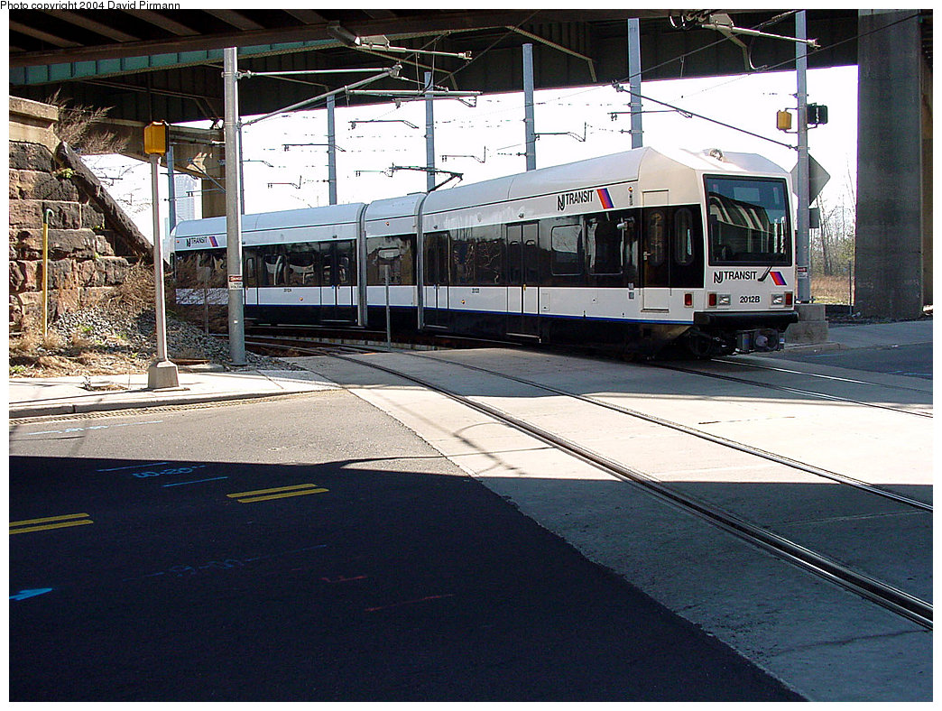 (288k, 1044x788)<br><b>Country:</b> United States<br><b>City:</b> Jersey City, NJ<br><b>System:</b> Hudson Bergen Light Rail<br><b>Location:</b> Liberty State Park <br><b>Car:</b> NJT-HBLR LRV (Kinki-Sharyo, 1998-99)  2012 <br><b>Photo by:</b> David Pirmann<br><b>Date:</b> 3/25/2000<br><b>Viewed (this week/total):</b> 0 / 2407