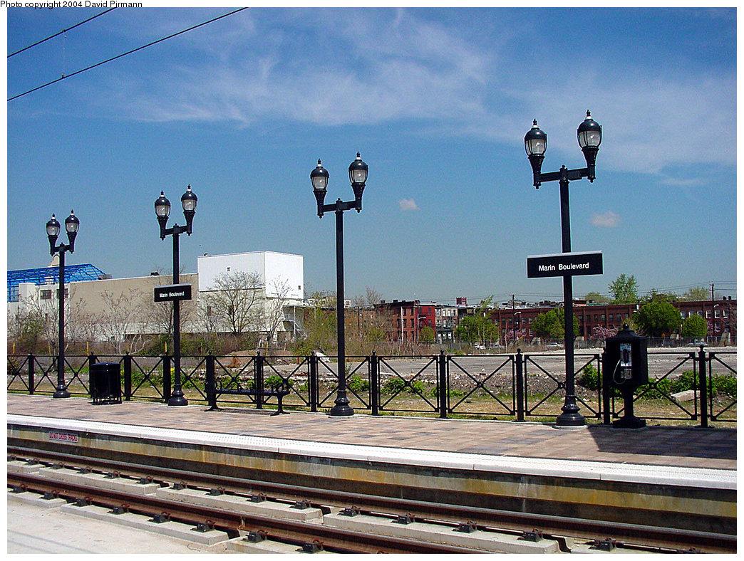 (309k, 1044x788)<br><b>Country:</b> United States<br><b>City:</b> Jersey City, NJ<br><b>System:</b> Hudson Bergen Light Rail<br><b>Location:</b> Marin Boulevard <br><b>Photo by:</b> David Pirmann<br><b>Date:</b> 4/29/2000<br><b>Viewed (this week/total):</b> 2 / 2635