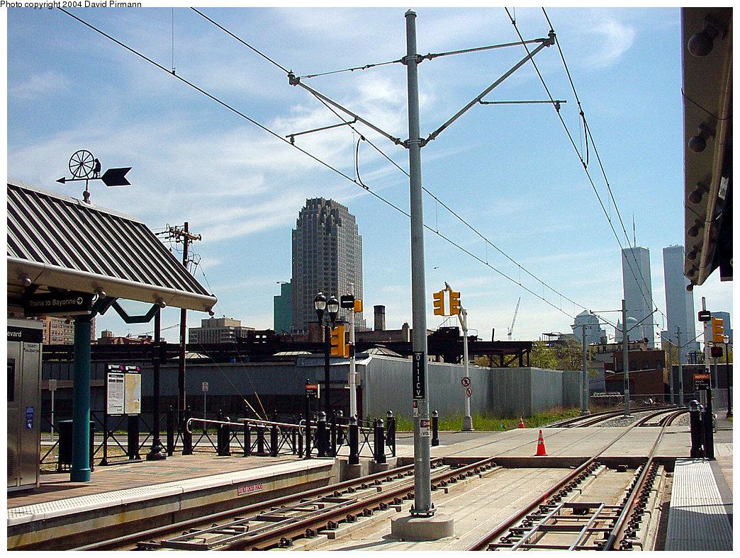(326k, 1044x788)<br><b>Country:</b> United States<br><b>City:</b> Jersey City, NJ<br><b>System:</b> Hudson Bergen Light Rail<br><b>Location:</b> Marin Boulevard <br><b>Photo by:</b> David Pirmann<br><b>Date:</b> 4/29/2000<br><b>Viewed (this week/total):</b> 1 / 7335
