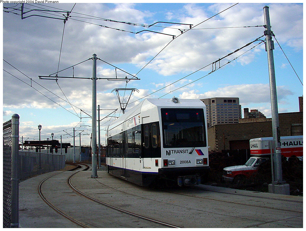 (282k, 1044x788)<br><b>Country:</b> United States<br><b>City:</b> Jersey City, NJ<br><b>System:</b> Hudson Bergen Light Rail<br><b>Location:</b> Van Vorst Street <br><b>Car:</b> NJT-HBLR LRV (Kinki-Sharyo, 1998-99)  2008 <br><b>Photo by:</b> David Pirmann<br><b>Date:</b> 3/26/2000<br><b>Viewed (this week/total):</b> 0 / 3222