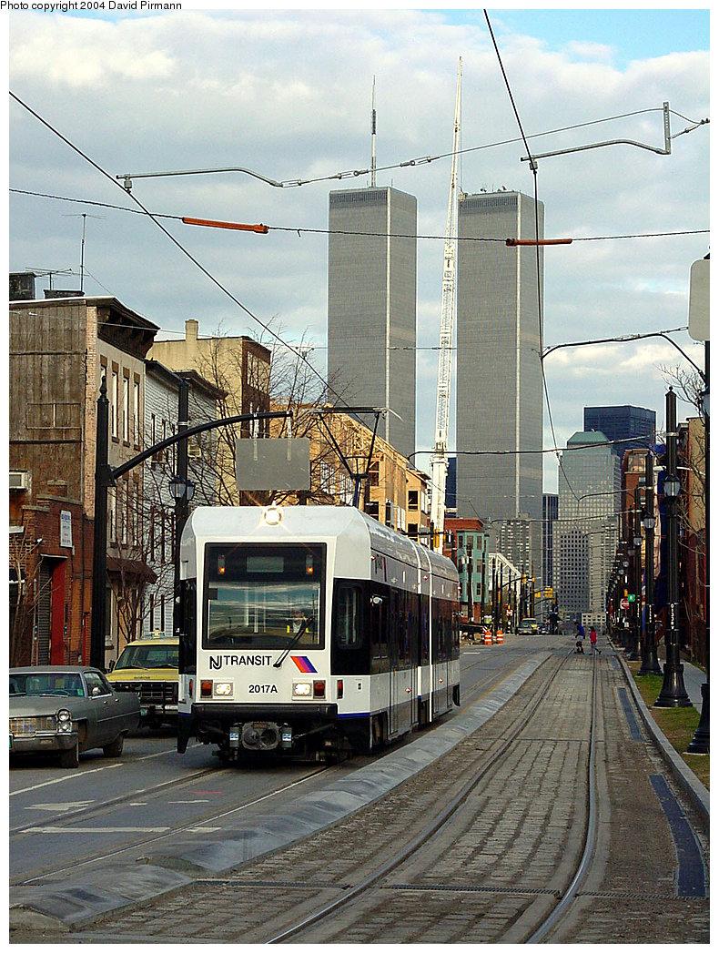 (311k, 790x1047)<br><b>Country:</b> United States<br><b>City:</b> Jersey City, NJ<br><b>System:</b> Hudson Bergen Light Rail<br><b>Location:</b> Van Vorst Street <br><b>Car:</b> NJT-HBLR LRV (Kinki-Sharyo, 1998-99)  2017 <br><b>Photo by:</b> David Pirmann<br><b>Date:</b> 3/26/2000<br><b>Viewed (this week/total):</b> 0 / 14656