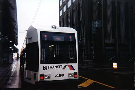 (17k, 432x288)<br><b>Country:</b> United States<br><b>City:</b> Jersey City, NJ<br><b>System:</b> Hudson Bergen Light Rail<br><b>Location:</b> Exchange Place <br><b>Car:</b> NJT-HBLR LRV (Kinki-Sharyo, 1998-99)  2029 <br><b>Photo by:</b> Jose Soltren<br><b>Date:</b> 4/23/2000<br><b>Viewed (this week/total):</b> 1 / 2888