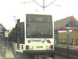 (17k, 320x240)<br><b>Country:</b> United States<br><b>City:</b> Jersey City, NJ<br><b>System:</b> Hudson Bergen Light Rail<br><b>Location:</b> Liberty State Park <br><b>Car:</b> NJT-HBLR LRV (Kinki-Sharyo, 1998-99)  2010 <br><b>Photo by:</b> Alan Braunstein<br><b>Date:</b> 4/22/2000<br><b>Viewed (this week/total):</b> 0 / 2723