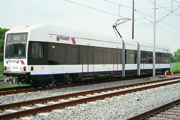 (120k, 600x400)<br><b>Country:</b> United States<br><b>City:</b> Jersey City, NJ<br><b>System:</b> Hudson Bergen Light Rail<br><b>Location:</b> HBLR Shops/Yard <br><b>Car:</b> NJT-HBLR LRV (Kinki-Sharyo, 1998-99)  2001 <br><b>Photo by:</b> Sidney Keyles<br><b>Date:</b> 6/5/1999<br><b>Viewed (this week/total):</b> 0 / 2545