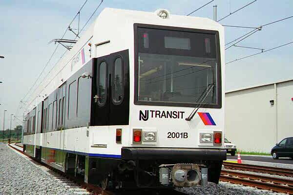 (77k, 600x400)<br><b>Country:</b> United States<br><b>City:</b> Jersey City, NJ<br><b>System:</b> Hudson Bergen Light Rail<br><b>Location:</b> HBLR Shops/Yard <br><b>Car:</b> NJT-HBLR LRV (Kinki-Sharyo, 1998-99)  2001 <br><b>Photo by:</b> Sidney Keyles<br><b>Date:</b> 6/5/1999<br><b>Viewed (this week/total):</b> 1 / 1790