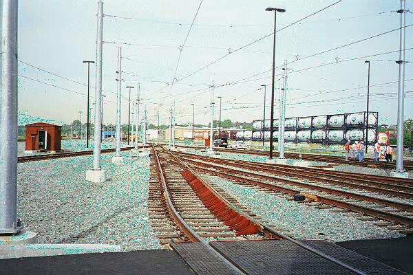 (66k, 600x400)<br><b>Country:</b> United States<br><b>City:</b> Jersey City, NJ<br><b>System:</b> Hudson Bergen Light Rail<br><b>Location:</b> HBLR Shops/Yard <br><b>Photo by:</b> Sidney Keyles<br><b>Date:</b> 6/5/1999<br><b>Notes:</b> Northerly view from car barn<br><b>Viewed (this week/total):</b> 0 / 2331