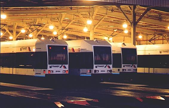 (40k, 566x362)<br><b>Country:</b> United States<br><b>City:</b> Jersey City, NJ<br><b>System:</b> Hudson Bergen Light Rail<br><b>Location:</b> HBLR Shops/Yard <br><b>Car:</b> NJT-HBLR LRV (Kinki-Sharyo, 1998-99)  2010 <br><b>Photo by:</b> Trevor Logan<br><b>Notes:</b> HBLR 2010/2023/2020<br><b>Viewed (this week/total):</b> 2 / 1839