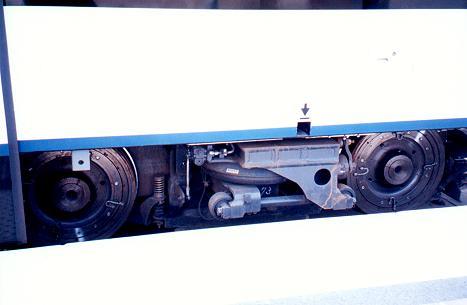(17k, 467x305)<br><b>Country:</b> United States<br><b>City:</b> Jersey City, NJ<br><b>System:</b> Hudson Bergen Light Rail<br><b>Photo by:</b> Trevor Logan<br><b>Notes:</b> LRV Truck<br><b>Viewed (this week/total):</b> 1 / 1995