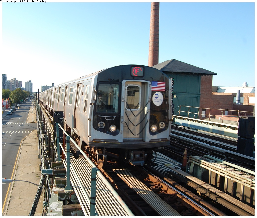(379k, 1044x888)<br><b>Country:</b> United States<br><b>City:</b> New York<br><b>System:</b> New York City Transit<br><b>Line:</b> BMT Culver Line<br><b>Location:</b> Avenue X <br><b>Route:</b> F<br><b>Car:</b> R-160B (Option 2) (Kawasaki, 2009)  9862 <br><b>Photo by:</b> John Dooley<br><b>Date:</b> 10/15/2011<br><b>Viewed (this week/total):</b> 0 / 757