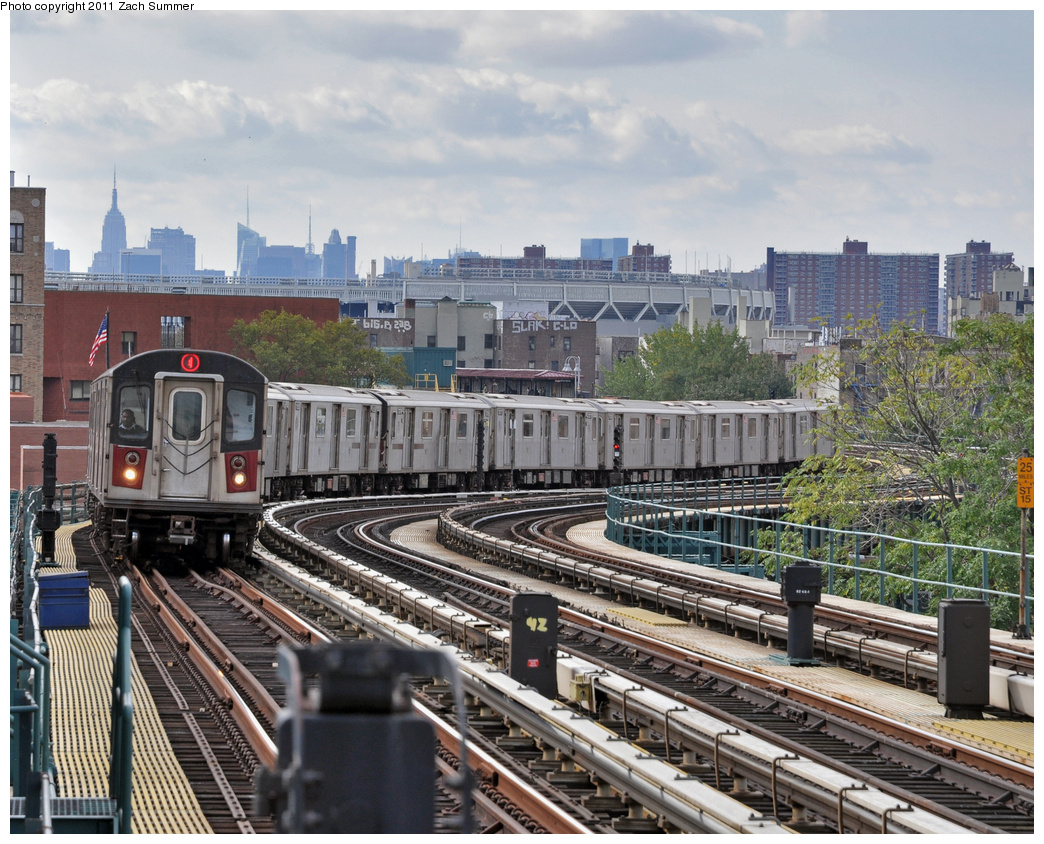 (477k, 1044x844)<br><b>Country:</b> United States<br><b>City:</b> New York<br><b>System:</b> New York City Transit<br><b>Line:</b> IRT Woodlawn Line<br><b>Location:</b> 170th Street <br><b>Route:</b> 4<br><b>Car:</b> R-142 (Option Order, Bombardier, 2002-2003)  1146 <br><b>Photo by:</b> Zach Summer<br><b>Date:</b> 10/23/2011<br><b>Viewed (this week/total):</b> 1 / 1017