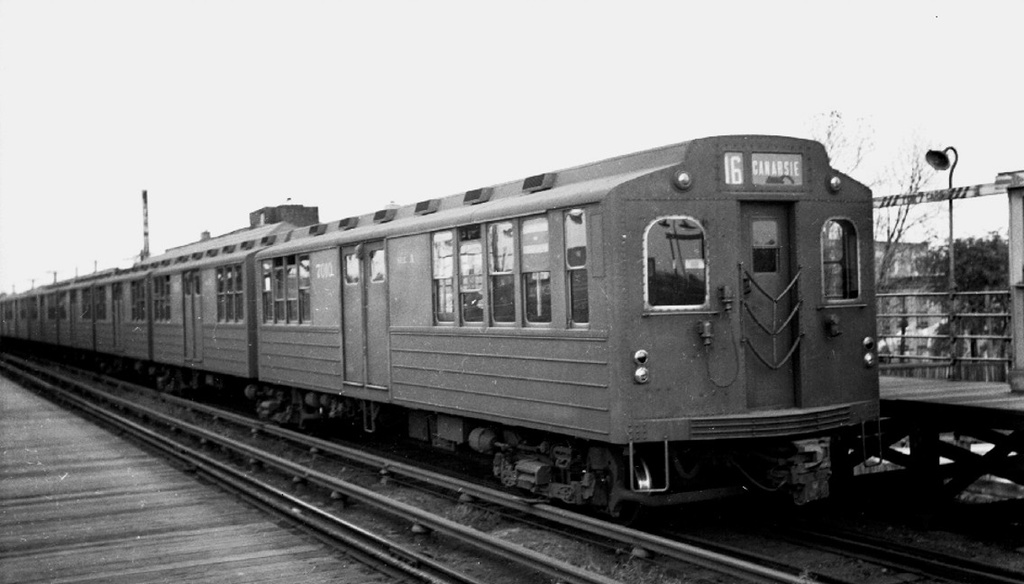 (148k, 1024x584)<br><b>Country:</b> United States<br><b>City:</b> New York<br><b>System:</b> New York City Transit<br><b>Line:</b> BMT Canarsie Line<br><b>Location:</b> Atlantic Avenue <br><b>Car:</b> BMT Multi 7001 <br><b>Collection of:</b> Frank Pfuhler<br><b>Date:</b> 1940<br><b>Viewed (this week/total):</b> 1 / 803