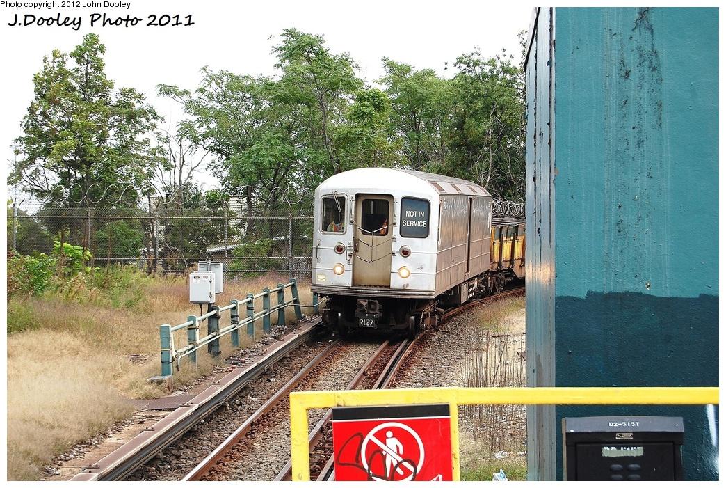 (460k, 1044x701)<br><b>Country:</b> United States<br><b>City:</b> New York<br><b>System:</b> New York City Transit<br><b>Line:</b> BMT West End Line<br><b>Location:</b> 9th Avenue <br><b>Route:</b> Work Service<br><b>Car:</b> R-127/R-134 (Kawasaki, 1991-1996) EP008 <br><b>Photo by:</b> John Dooley<br><b>Date:</b> 9/22/2011<br><b>Viewed (this week/total):</b> 2 / 1219