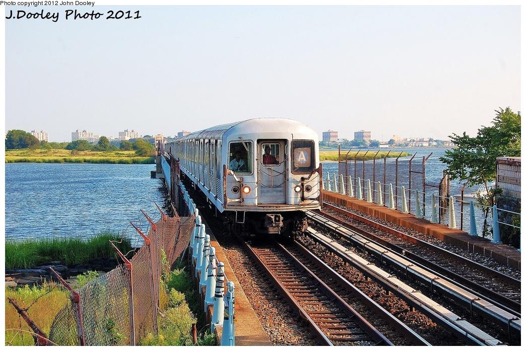 (417k, 1044x697)<br><b>Country:</b> United States<br><b>City:</b> New York<br><b>System:</b> New York City Transit<br><b>Line:</b> IND Rockaway<br><b>Location:</b> Broad Channel <br><b>Route:</b> A<br><b>Car:</b> R-42 (St. Louis, 1969-1970)  4800 <br><b>Photo by:</b> John Dooley<br><b>Date:</b> 8/20/2011<br><b>Viewed (this week/total):</b> 0 / 1265