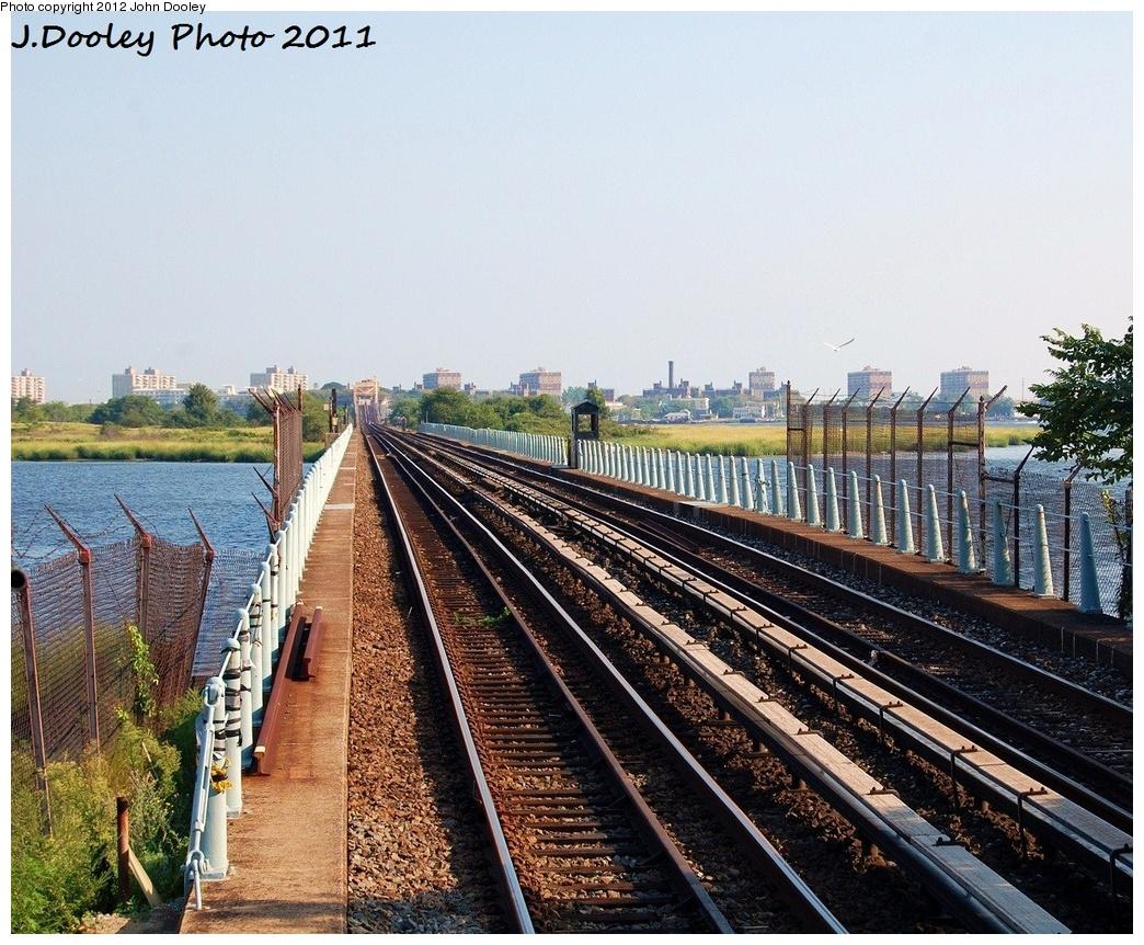 (452k, 1044x862)<br><b>Country:</b> United States<br><b>City:</b> New York<br><b>System:</b> New York City Transit<br><b>Line:</b> IND Rockaway<br><b>Location:</b> Jamaica Bay Crossing<br><b>Photo by:</b> John Dooley<br><b>Date:</b> 8/20/2011<br><b>Viewed (this week/total):</b> 0 / 399