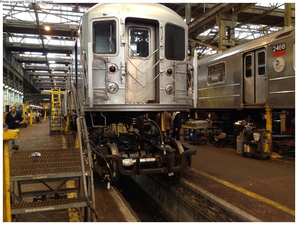 (355k, 1044x788)<br><b>Country:</b> United States<br><b>City:</b> New York<br><b>System:</b> New York City Transit<br><b>Location:</b> 207th Street Shop<br><b>Car:</b> R-62A (Bombardier, 1984-1987)   <br><b>Photo by:</b> Daniel Negron<br><b>Date:</b> 11/3/2011<br><b>Viewed (this week/total):</b> 0 / 796
