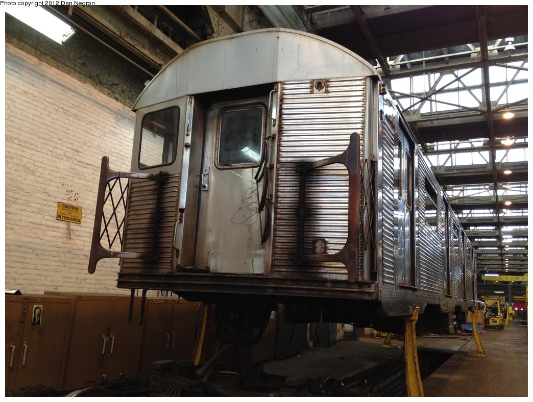 (322k, 1044x788)<br><b>Country:</b> United States<br><b>City:</b> New York<br><b>System:</b> New York City Transit<br><b>Location:</b> 207th Street Shop<br><b>Car:</b> R-32 (Budd, 1964)  3896 <br><b>Photo by:</b> Daniel Negron<br><b>Date:</b> 11/3/2011<br><b>Viewed (this week/total):</b> 1 / 635