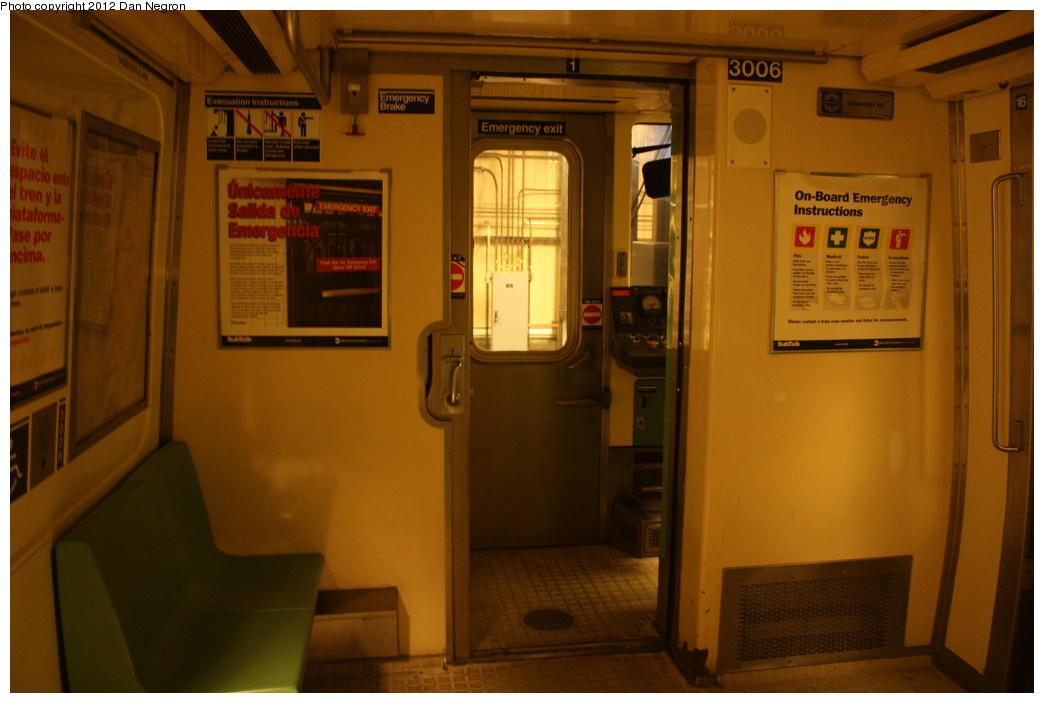 (244k, 1044x703)<br><b>Country:</b> United States<br><b>City:</b> New York<br><b>System:</b> New York City Transit<br><b>Location:</b> Coney Island Yard-Training Facilities<br><b>Car:</b> R-110B (Bombardier, 1992) 3006 <br><b>Photo by:</b> Daniel Negron<br><b>Date:</b> 12/8/2011<br><b>Viewed (this week/total):</b> 2 / 1728