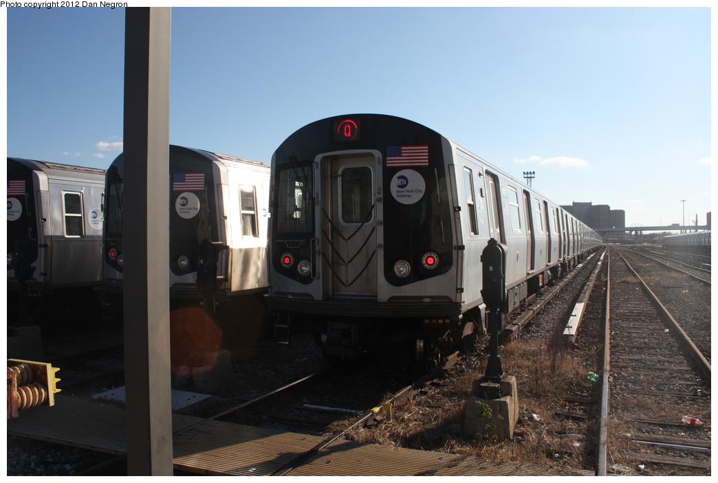 (252k, 1044x703)<br><b>Country:</b> United States<br><b>City:</b> New York<br><b>System:</b> New York City Transit<br><b>Location:</b> Coney Island Yard<br><b>Car:</b> R-160B (Kawasaki, 2005-2008)  8847 <br><b>Photo by:</b> Daniel Negron<br><b>Date:</b> 12/8/2011<br><b>Viewed (this week/total):</b> 0 / 666