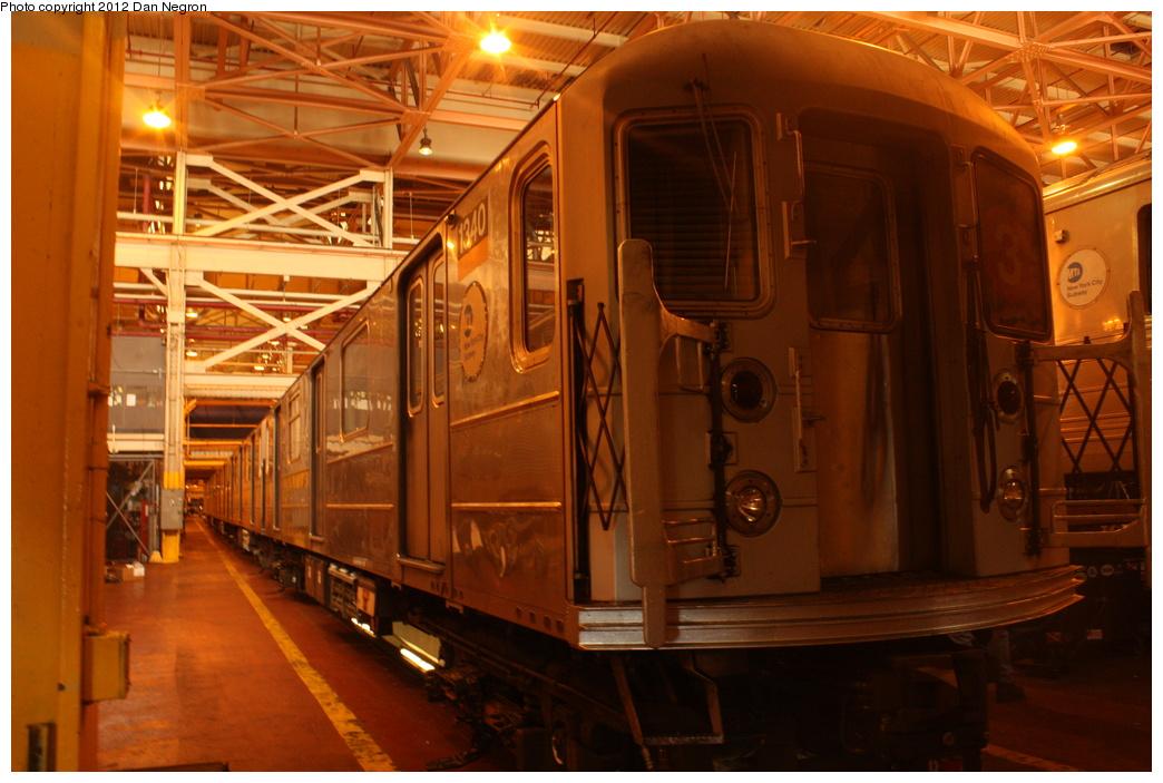 (297k, 1044x703)<br><b>Country:</b> United States<br><b>City:</b> New York<br><b>System:</b> New York City Transit<br><b>Location:</b> Coney Island Shop/Overhaul & Repair Shop<br><b>Car:</b> R-62 (Kawasaki, 1983-1985)  1340 <br><b>Photo by:</b> Daniel Negron<br><b>Date:</b> 12/8/2011<br><b>Viewed (this week/total):</b> 0 / 491