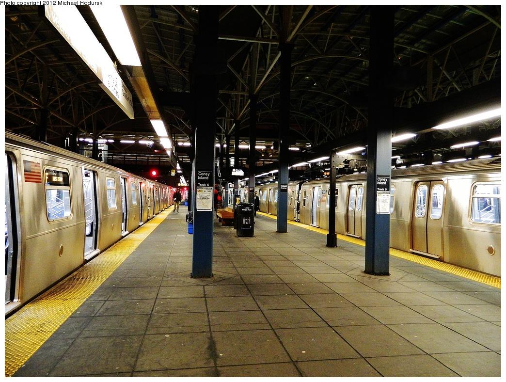 (431k, 1044x788)<br><b>Country:</b> United States<br><b>City:</b> New York<br><b>System:</b> New York City Transit<br><b>Location:</b> Coney Island/Stillwell Avenue<br><b>Photo by:</b> Michael Hodurski<br><b>Date:</b> 1/12/2012<br><b>Viewed (this week/total):</b> 1 / 954