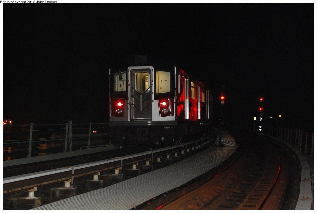 (276k, 1044x701)<br><b>Country:</b> United States<br><b>City:</b> New York<br><b>System:</b> New York City Transit<br><b>Line:</b> BMT Culver Line<br><b>Location:</b> Avenue X <br><b>Car:</b> R-142A (Primary Order, Kawasaki, 1999-2002)  7508 <br><b>Photo by:</b> John Dooley<br><b>Date:</b> 10/15/2011<br><b>Viewed (this week/total):</b> 0 / 1488