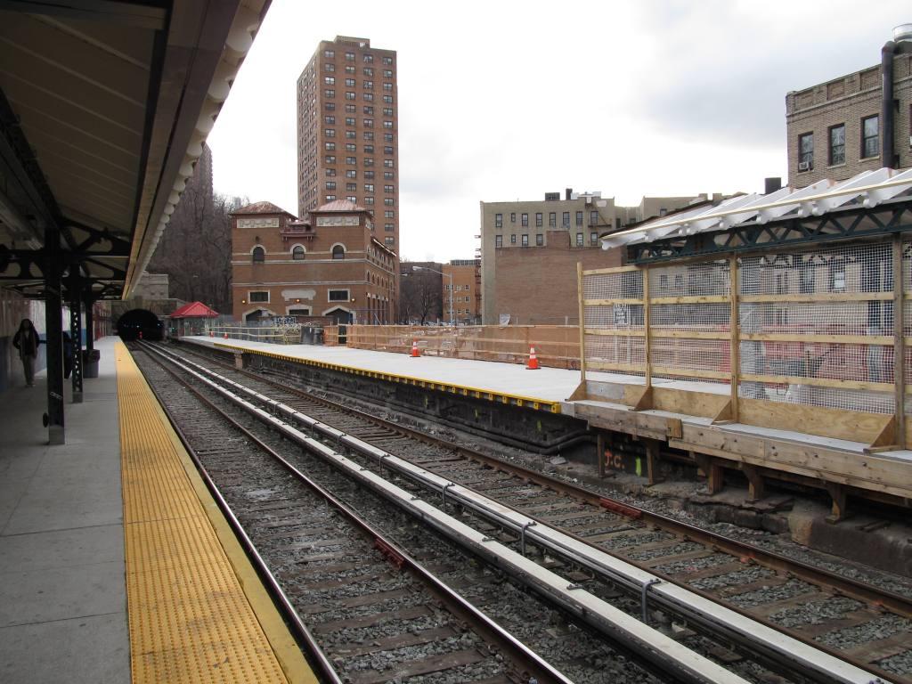 (139k, 1024x768)<br><b>Country:</b> United States<br><b>City:</b> New York<br><b>System:</b> New York City Transit<br><b>Line:</b> IRT West Side Line<br><b>Location:</b> Dyckman Street <br><b>Photo by:</b> Robbie Rosenfeld<br><b>Date:</b> 1/19/2012<br><b>Notes:</b> Platform renovation in progress.<br><b>Viewed (this week/total):</b> 2 / 1107