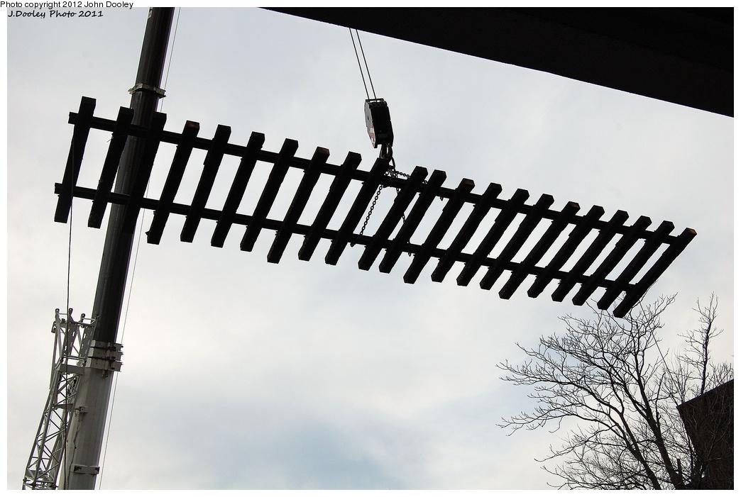 (266k, 1044x701)<br><b>Country:</b> United States<br><b>City:</b> New York<br><b>System:</b> New York City Transit<br><b>Line:</b> BMT Sea Beach Line<br><b>Location:</b> New Utrecht Avenue <br><b>Photo by:</b> John Dooley<br><b>Date:</b> 11/27/2011<br><b>Notes:</b> Track panel replacement.<br><b>Viewed (this week/total):</b> 0 / 669