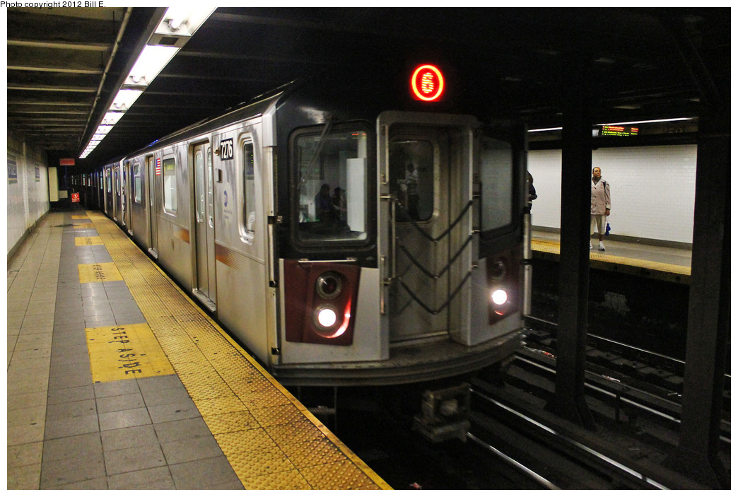 (343k, 1044x703)<br><b>Country:</b> United States<br><b>City:</b> New York<br><b>System:</b> New York City Transit<br><b>Line:</b> IRT East Side Line<br><b>Location:</b> 59th Street <br><b>Route:</b> 6<br><b>Car:</b> R-142A (Primary Order, Kawasaki, 1999-2002)  7276 <br><b>Photo by:</b> Bill E.<br><b>Date:</b> 9/6/2011<br><b>Viewed (this week/total):</b> 2 / 1466