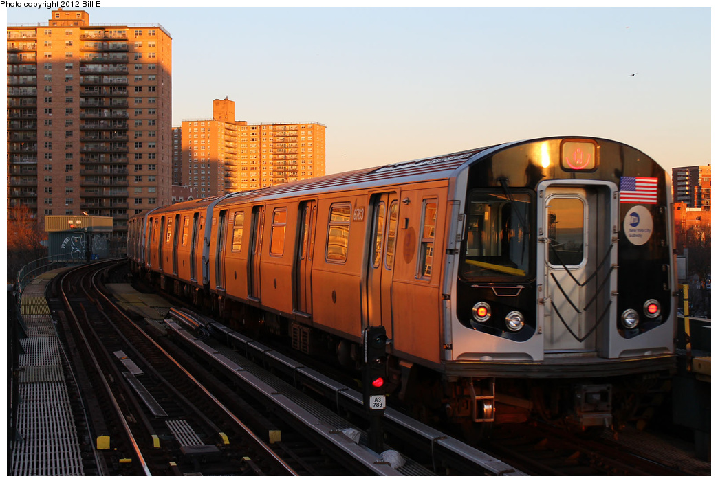 (334k, 1044x703)<br><b>Country:</b> United States<br><b>City:</b> New York<br><b>System:</b> New York City Transit<br><b>Line:</b> BMT Brighton Line<br><b>Location:</b> West 8th Street <br><b>Route:</b> Q<br><b>Car:</b> R-160B (Kawasaki, 2005-2008)  8763 <br><b>Photo by:</b> Bill E.<br><b>Date:</b> 12/24/2011<br><b>Viewed (this week/total):</b> 3 / 823