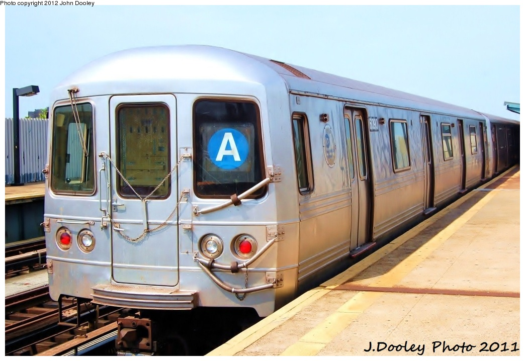 (281k, 1044x718)<br><b>Country:</b> United States<br><b>City:</b> New York<br><b>System:</b> New York City Transit<br><b>Line:</b> IND Fulton Street Line<br><b>Location:</b> 80th Street/Hudson Street <br><b>Route:</b> A<br><b>Car:</b> R-46 (Pullman-Standard, 1974-75) 6090 <br><b>Photo by:</b> John Dooley<br><b>Date:</b> 7/23/2011<br><b>Viewed (this week/total):</b> 0 / 587