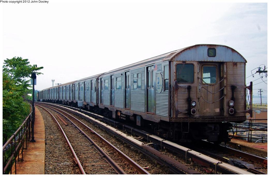 (304k, 1044x685)<br><b>Country:</b> United States<br><b>City:</b> New York<br><b>System:</b> New York City Transit<br><b>Route:</b> A<br><b>Car:</b> R-32 (Budd, 1964)  3740 <br><b>Photo by:</b> John Dooley<br><b>Date:</b> 7/24/2011<br><b>Viewed (this week/total):</b> 0 / 633