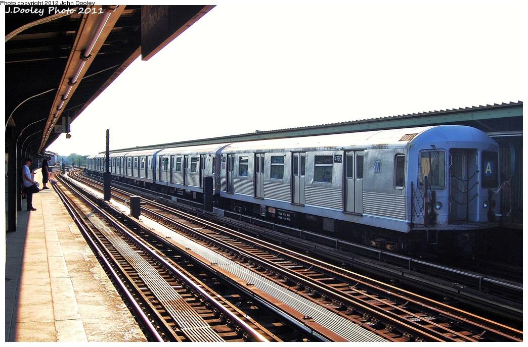 (342k, 1044x687)<br><b>Country:</b> United States<br><b>City:</b> New York<br><b>System:</b> New York City Transit<br><b>Line:</b> IND Fulton Street Line<br><b>Location:</b> 80th Street/Hudson Street <br><b>Route:</b> A<br><b>Car:</b> R-42 (St. Louis, 1969-1970)  4790 <br><b>Photo by:</b> John Dooley<br><b>Date:</b> 8/20/2011<br><b>Viewed (this week/total):</b> 3 / 910
