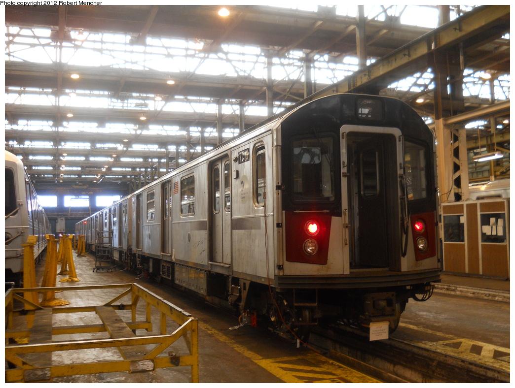 (395k, 1044x788)<br><b>Country:</b> United States<br><b>City:</b> New York<br><b>System:</b> New York City Transit<br><b>Location:</b> 207th Street Shop<br><b>Car:</b> R-142A (Primary Order, Kawasaki, 1999-2002)  7216 <br><b>Photo by:</b> Robert Mencher<br><b>Date:</b> 3/27/2011<br><b>Viewed (this week/total):</b> 0 / 781