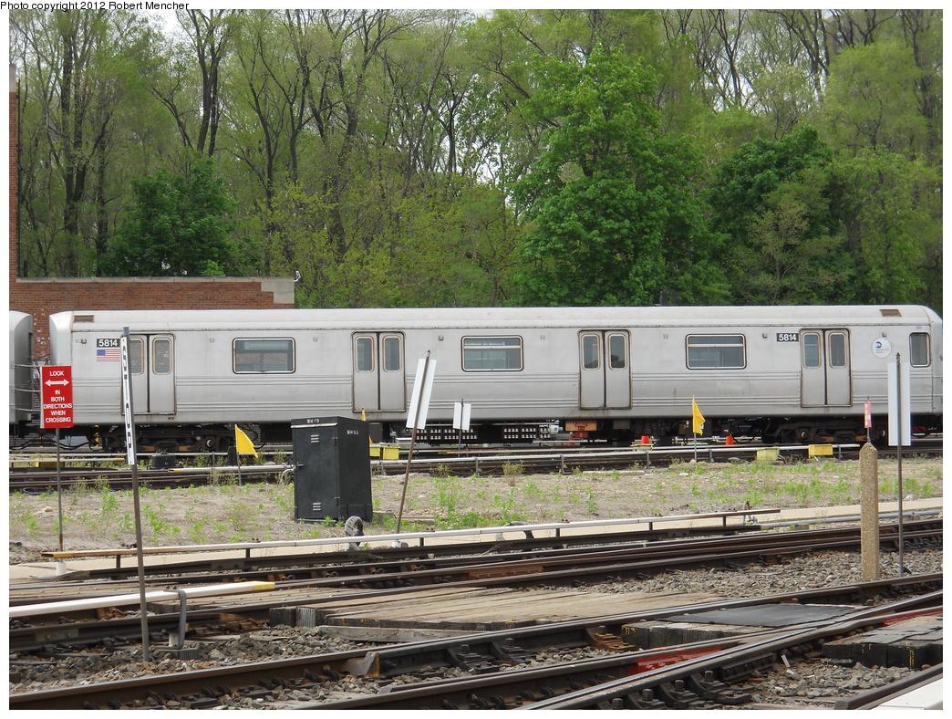 (539k, 1044x788)<br><b>Country:</b> United States<br><b>City:</b> New York<br><b>System:</b> New York City Transit<br><b>Location:</b> Jamaica Yard/Shops<br><b>Car:</b> R-46 (Pullman-Standard, 1974-75) 5814 <br><b>Photo by:</b> Robert Mencher<br><b>Date:</b> 5/11/2011<br><b>Viewed (this week/total):</b> 0 / 690