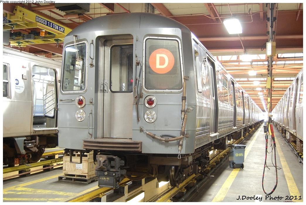(387k, 1044x701)<br><b>Country:</b> United States<br><b>City:</b> New York<br><b>System:</b> New York City Transit<br><b>Location:</b> Coney Island Shop/Overhaul & Repair Shop<br><b>Car:</b> R-68A (Kawasaki, 1988-1989)  5084 <br><b>Photo by:</b> John Dooley<br><b>Date:</b> 10/15/2011<br><b>Viewed (this week/total):</b> 0 / 796