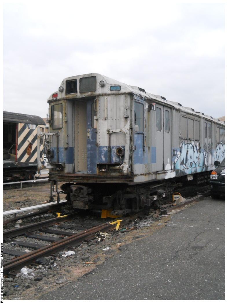 (327k, 788x1044)<br><b>Country:</b> United States<br><b>City:</b> New York<br><b>System:</b> New York City Transit<br><b>Location:</b> 207th Street Yard<br><b>Car:</b> R-14 (American Car & Foundry, 1949) 35871 <br><b>Photo by:</b> Robert Mencher<br><b>Date:</b> 2/11/2012<br><b>Viewed (this week/total):</b> 1 / 1042