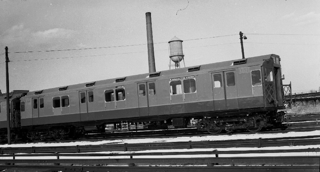 (187k, 1024x553)<br><b>Country:</b> United States<br><b>City:</b> New York<br><b>System:</b> New York City Transit<br><b>Location:</b> Coney Island Yard<br><b>Car:</b> R-10 (American Car & Foundry, 1948) 3021 <br><b>Collection of:</b> Frank Pfuhler<br><b>Notes:</b> Circa 1949<br><b>Viewed (this week/total):</b> 2 / 1676