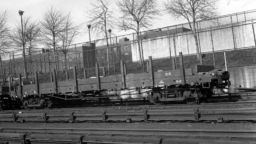 (298k, 1024x578)<br><b>Country:</b> United States<br><b>City:</b> New York<br><b>System:</b> New York City Transit<br><b>Location:</b> 207th Street Yard<br><b>Car:</b> Flat Car 83 <br><b>Collection of:</b> Frank Pfuhler<br><b>Viewed (this week/total):</b> 5 / 752
