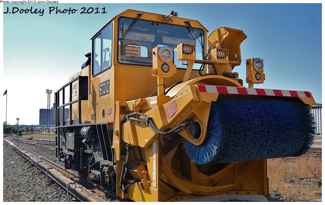 (381k, 1044x658)<br><b>Country:</b> United States<br><b>City:</b> New York<br><b>System:</b> New York City Transit<br><b>Location:</b> Coney Island Yard<br><b>Car:</b> R-146 Snow Removal Car ST202 <br><b>Photo by:</b> John Dooley<br><b>Date:</b> 10/9/2011<br><b>Viewed (this week/total):</b> 2 / 784