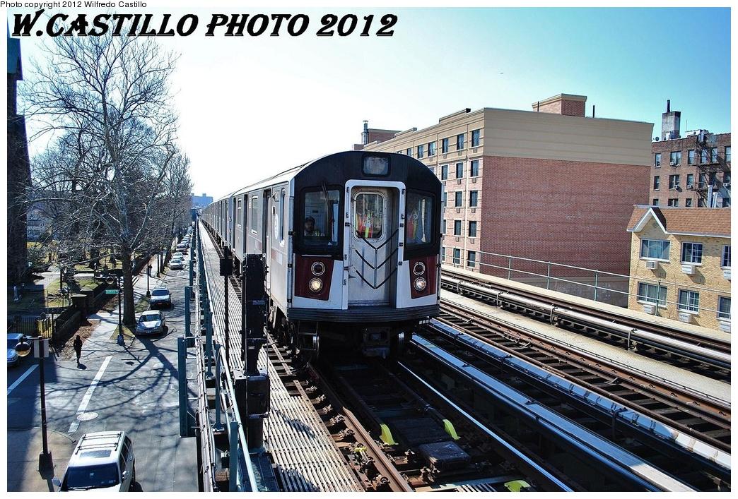 (424k, 1044x707)<br><b>Country:</b> United States<br><b>City:</b> New York<br><b>System:</b> New York City Transit<br><b>Line:</b> IRT Pelham Line<br><b>Location:</b> Westchester Square <br><b>Route:</b> 6<br><b>Car:</b> R-142A (Primary Order, Kawasaki, 1999-2002)  7400 <br><b>Photo by:</b> Wilfredo Castillo<br><b>Date:</b> 2/22/2012<br><b>Viewed (this week/total):</b> 0 / 978