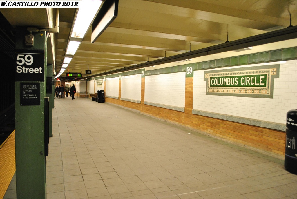 (259k, 1024x687)<br><b>Country:</b> United States<br><b>City:</b> New York<br><b>System:</b> New York City Transit<br><b>Line:</b> IRT West Side Line<br><b>Location:</b> 59th Street/Columbus Circle <br><b>Photo by:</b> Wilfredo Castillo<br><b>Date:</b> 2/25/2012<br><b>Viewed (this week/total):</b> 0 / 857