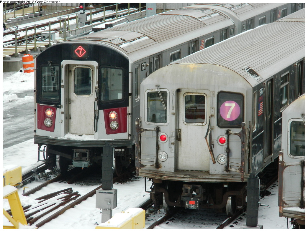 (372k, 1044x788)<br><b>Country:</b> United States<br><b>City:</b> New York<br><b>System:</b> New York City Transit<br><b>Location:</b> Corona Yard<br><b>Car:</b> R-188 (R-142A Conversion, Kawasaki, 1999-2002) 7211 <br><b>Photo by:</b> Gary Chatterton<br><b>Date:</b> 1/22/2012<br><b>Viewed (this week/total):</b> 3 / 1529
